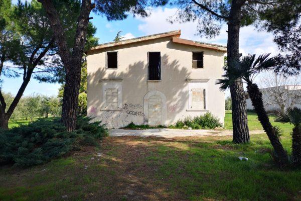 NOVITA'_Casale antico con capannone sulla strada 231 (Andria_Corato) - cod. 383