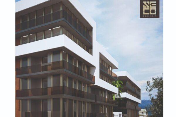 """Cod. 118__RESIDENCE """"ELITE""""_SISMA BONUS___Nuova costruzione appartamenti Via Gioacchino Poli/Via Capuana – Andria -"""